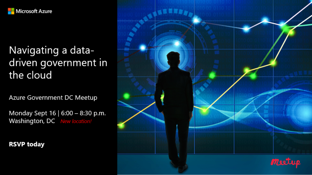 Join us! Navigating a data-driven government in the cloud – Sept 16