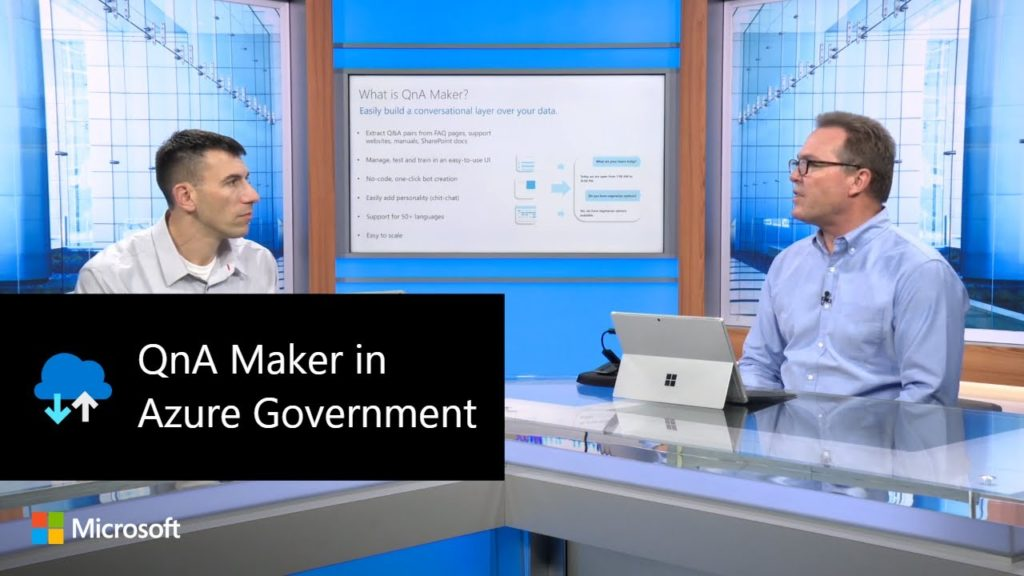 QnA Maker in Azure Government