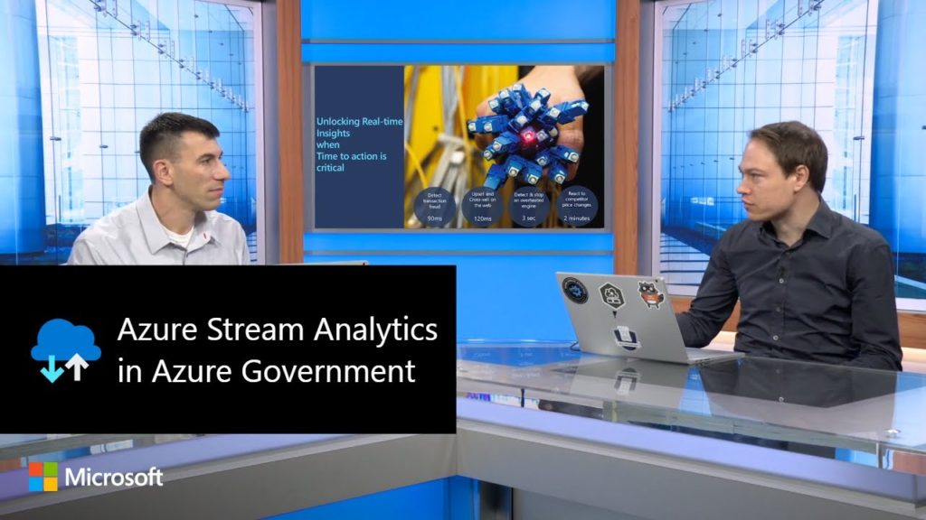 Azure Stream Analytics in Azure Government