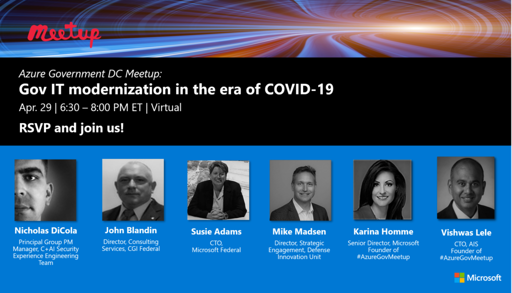 Join us online April 29: Gov IT modernization in the era of COVID-19