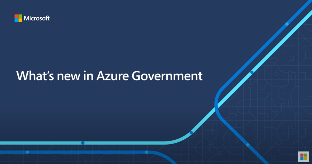 What's new in Azure Government