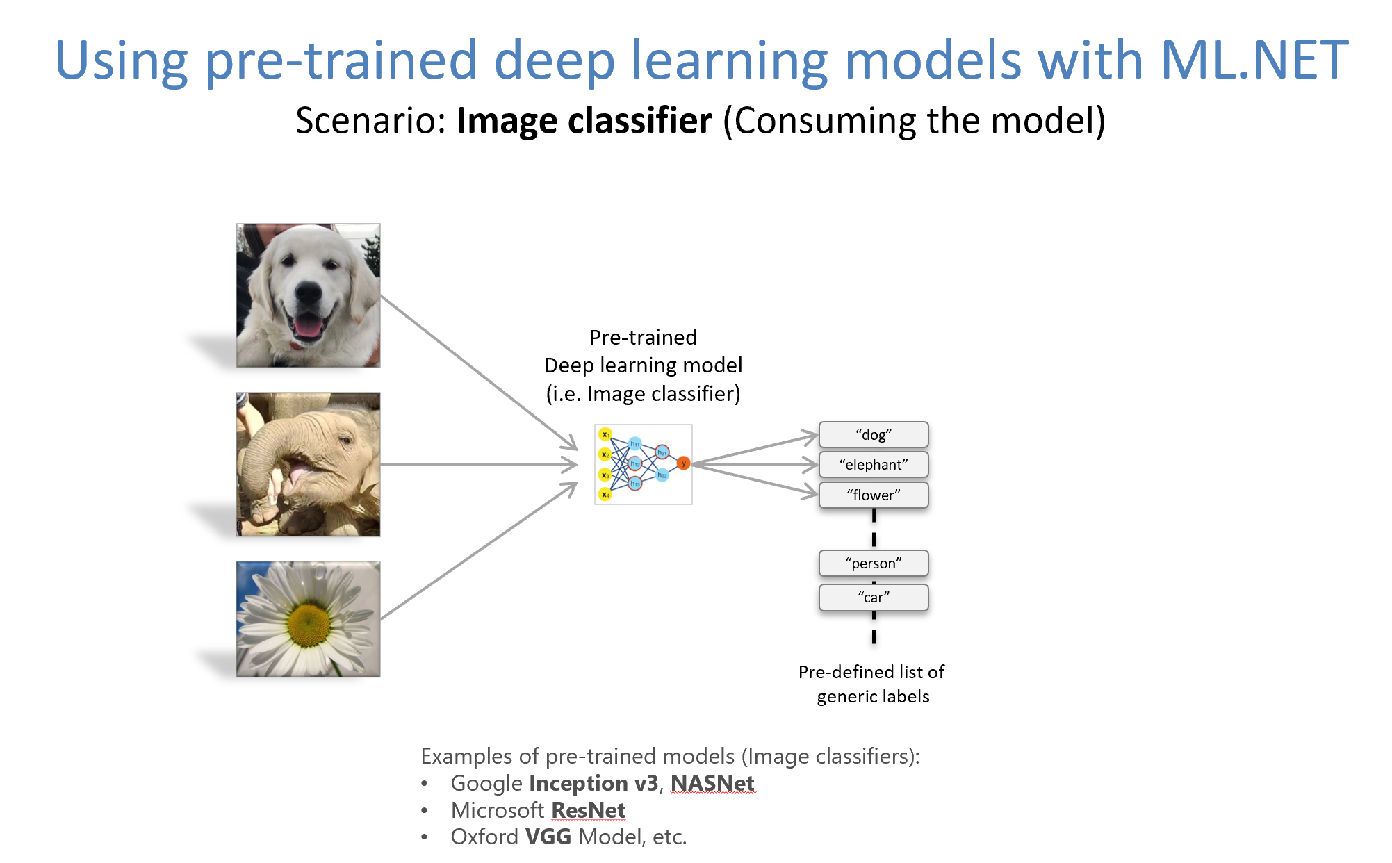 Training Image Classification/Recognition models based on