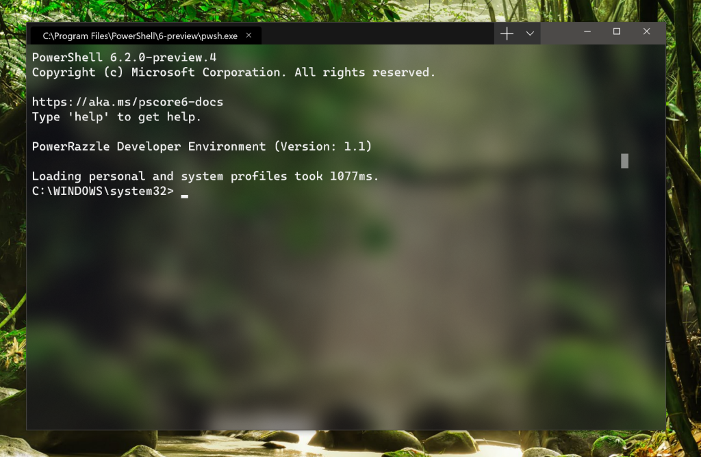Introducing Windows Terminal | Windows Command Line Tools For Developers