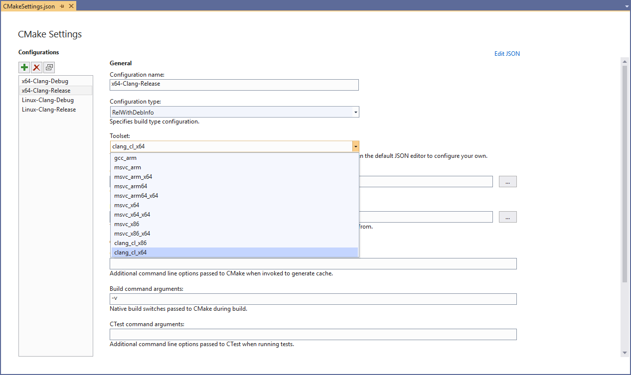 Clang/LLVM Support in Visual Studio | C++ Team Blog