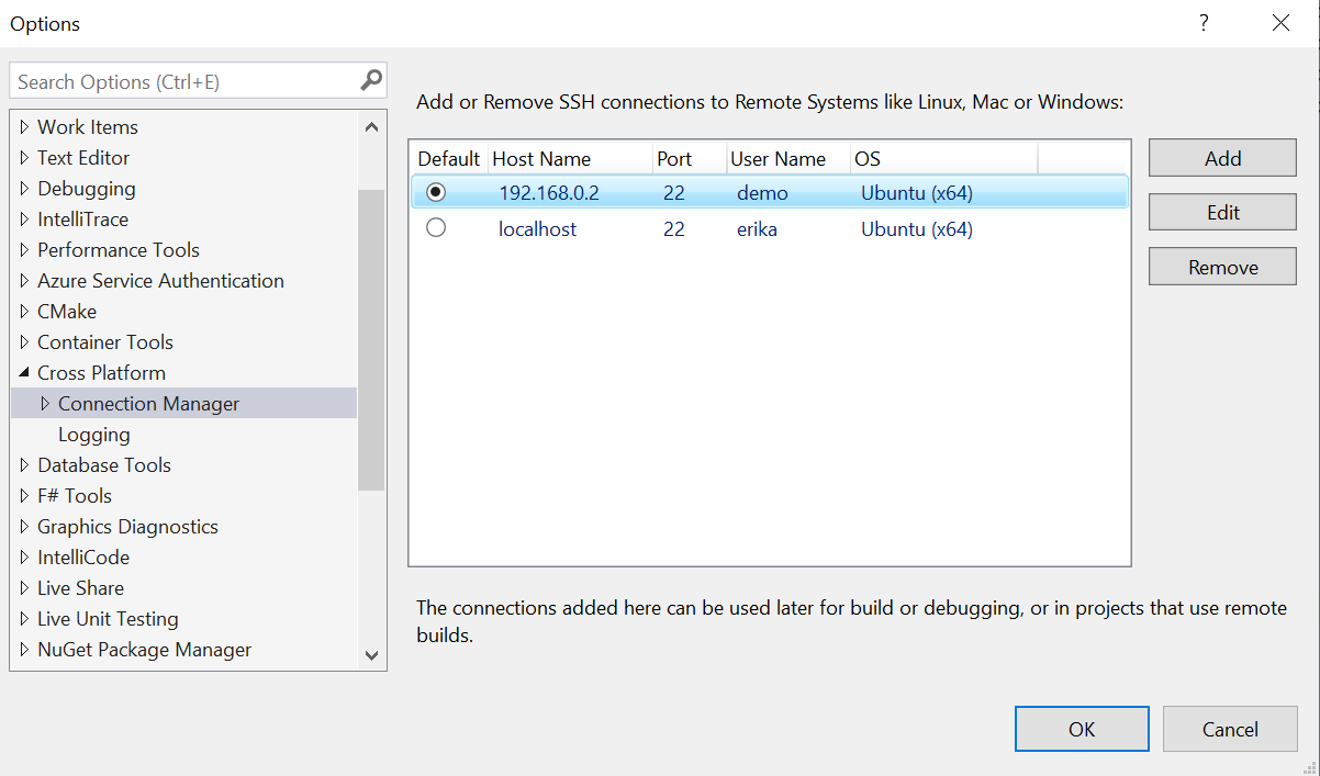 Linux development with Visual Studio: first-class support for gdbserver, improved build times with Ninja, and updates to the Connection Manager | C++ Team Blog