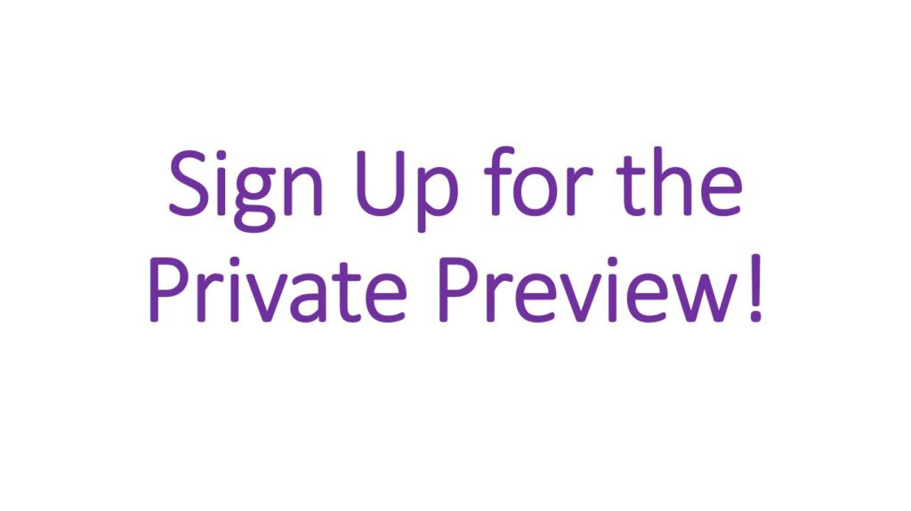 Sign Up for the Private Preview of Visual Studio support for Codespaces!