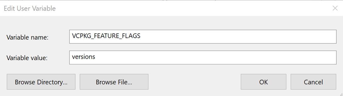 Image versioning feature flag
