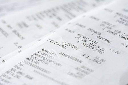 Predicting Expense Type from Receipts with Microsoft Cognitive Services