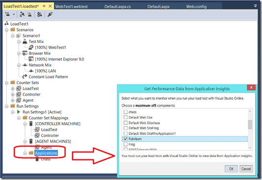 Cloud Load testing with Visual Studio Online - Launching General