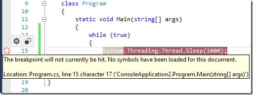 Understanding symbol files and Visual Studio's symbol