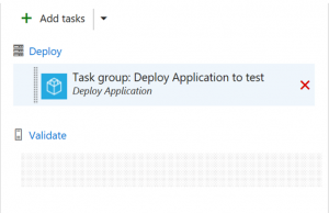 Use Task Group in deployment workflow