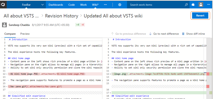 Wiki supports HTML tags, anchor links, and much more | Azure DevOps Blog