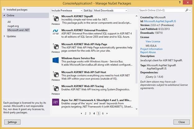 NuGet is a  NET framework release vehicle |  NET Blog