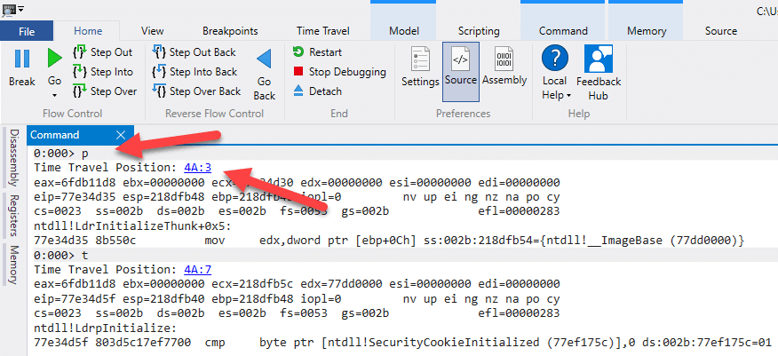 Debugging .NET Apps with Time Travel Debugging (TTD)