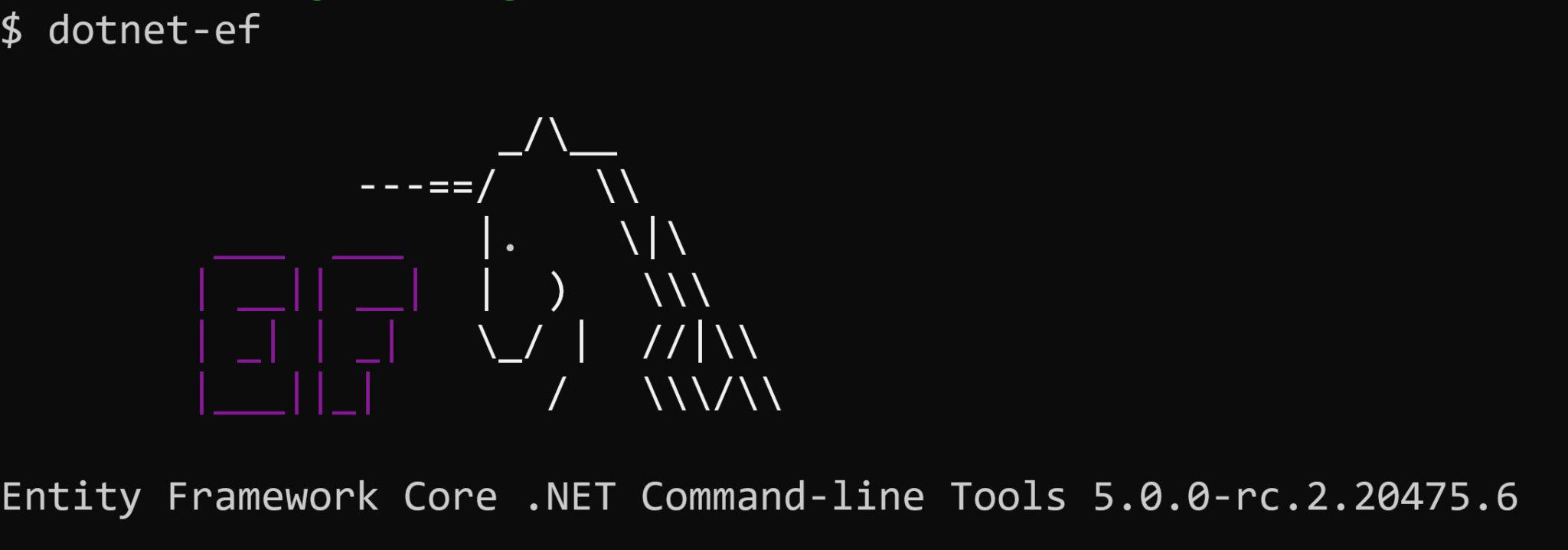 Announcing Entity Framework Core (EF Core) 5 RC2