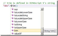 ASP NET Blog | New JavaScript editing features for Web