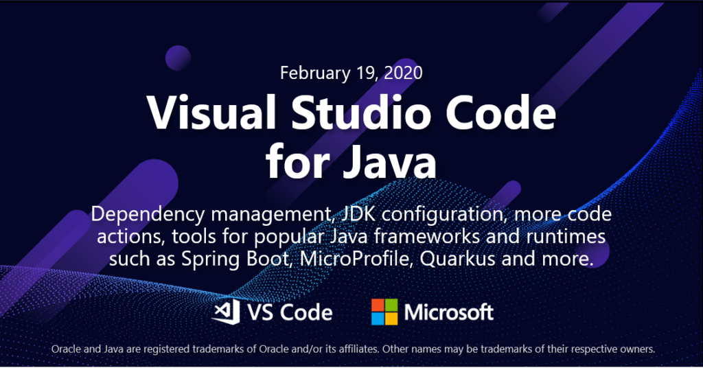 Java on Visual Studio Code Update – February 2020