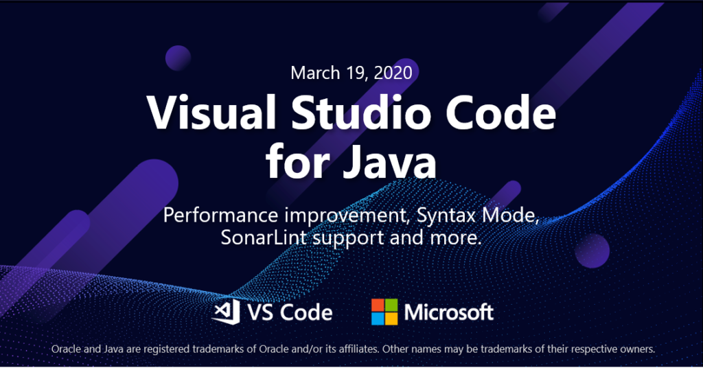 Java on Visual Studio Code Update – March 2020
