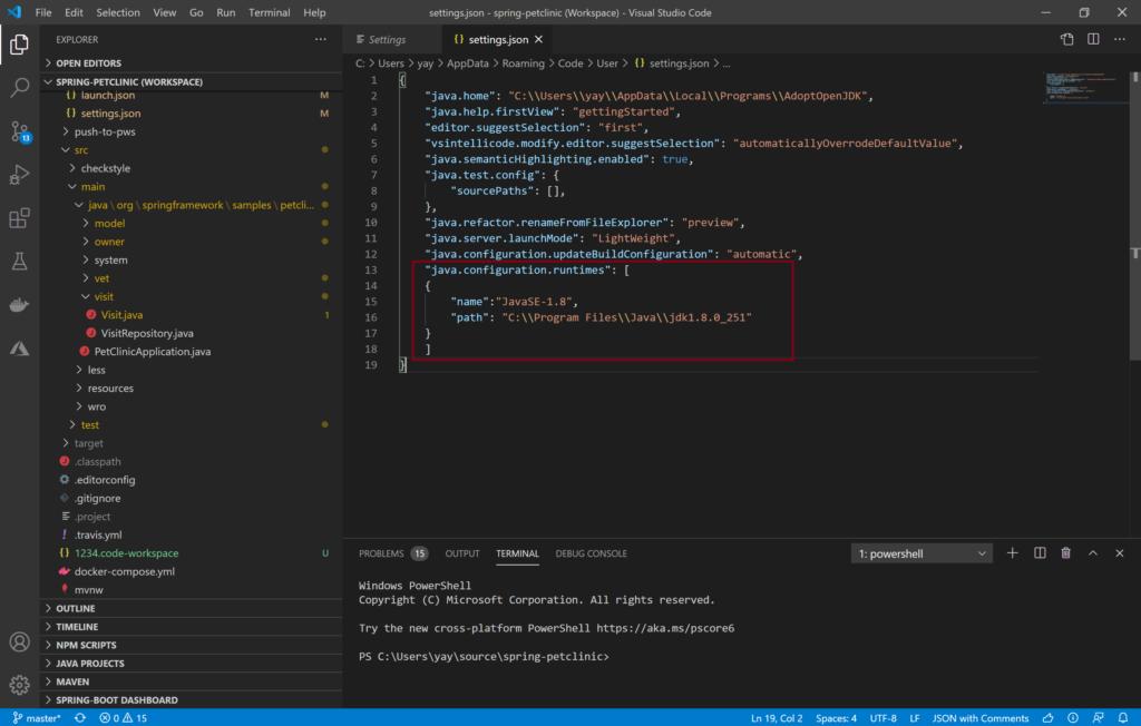 Image java 11 8211 runtime configuration setting