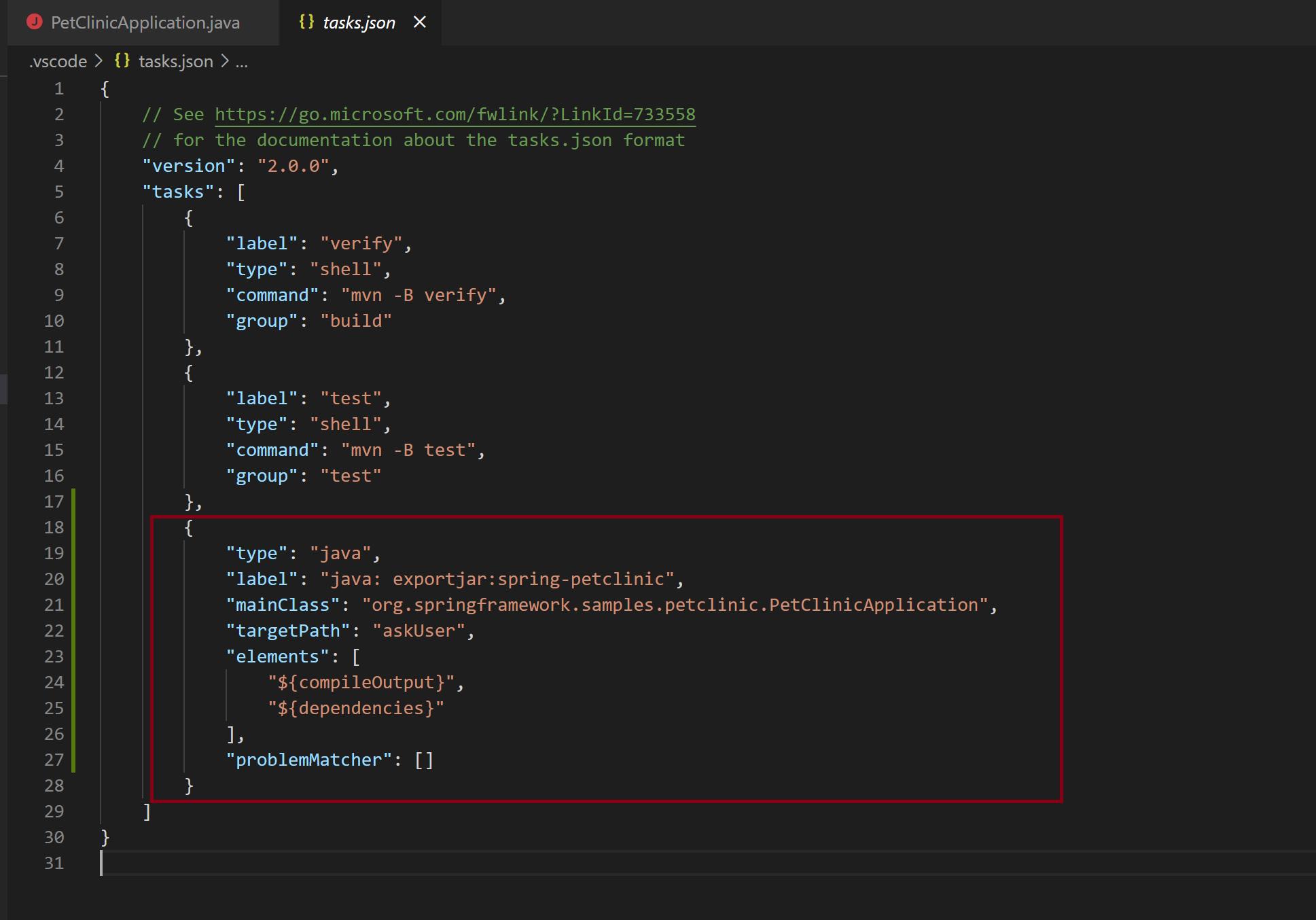 Image Exporting JAR using custom task