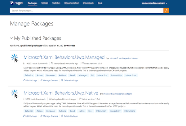 Manage Packages