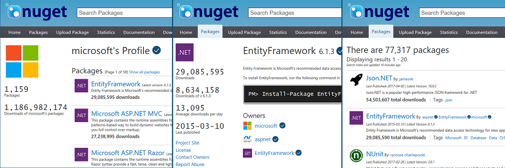 nuget.org Verified Owners