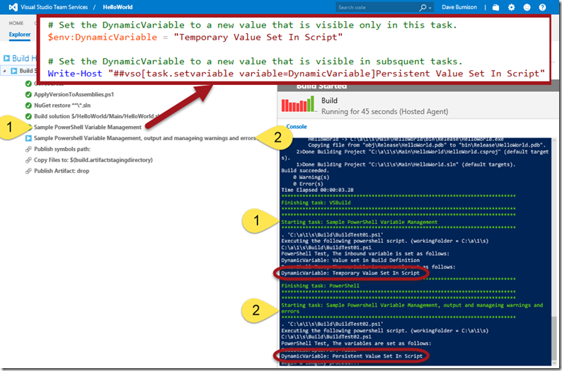 Tips for Writing PowerShell Scripts to Use in Build and