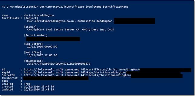 DigiCert Certificate Management through Azure Key Vault