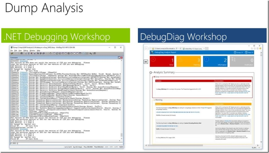 Debugging Windows Applications with DebugDiag Workshop