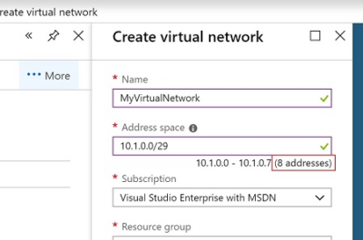 Understanding CIDR Notation when designing Azure Virtual Networks and Subnets