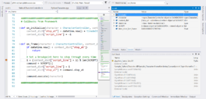 Debugging Python and C++ simultaneously in Visual Studio 2017