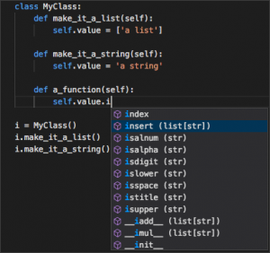Python IntelliSense in VS Code