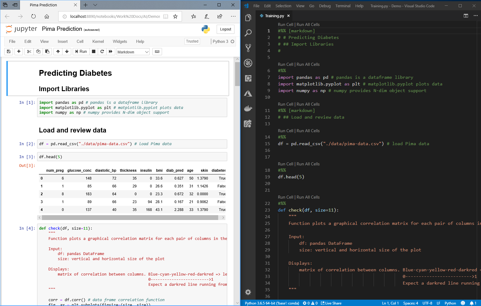 Data Science with Python in Visual Studio Code | Python