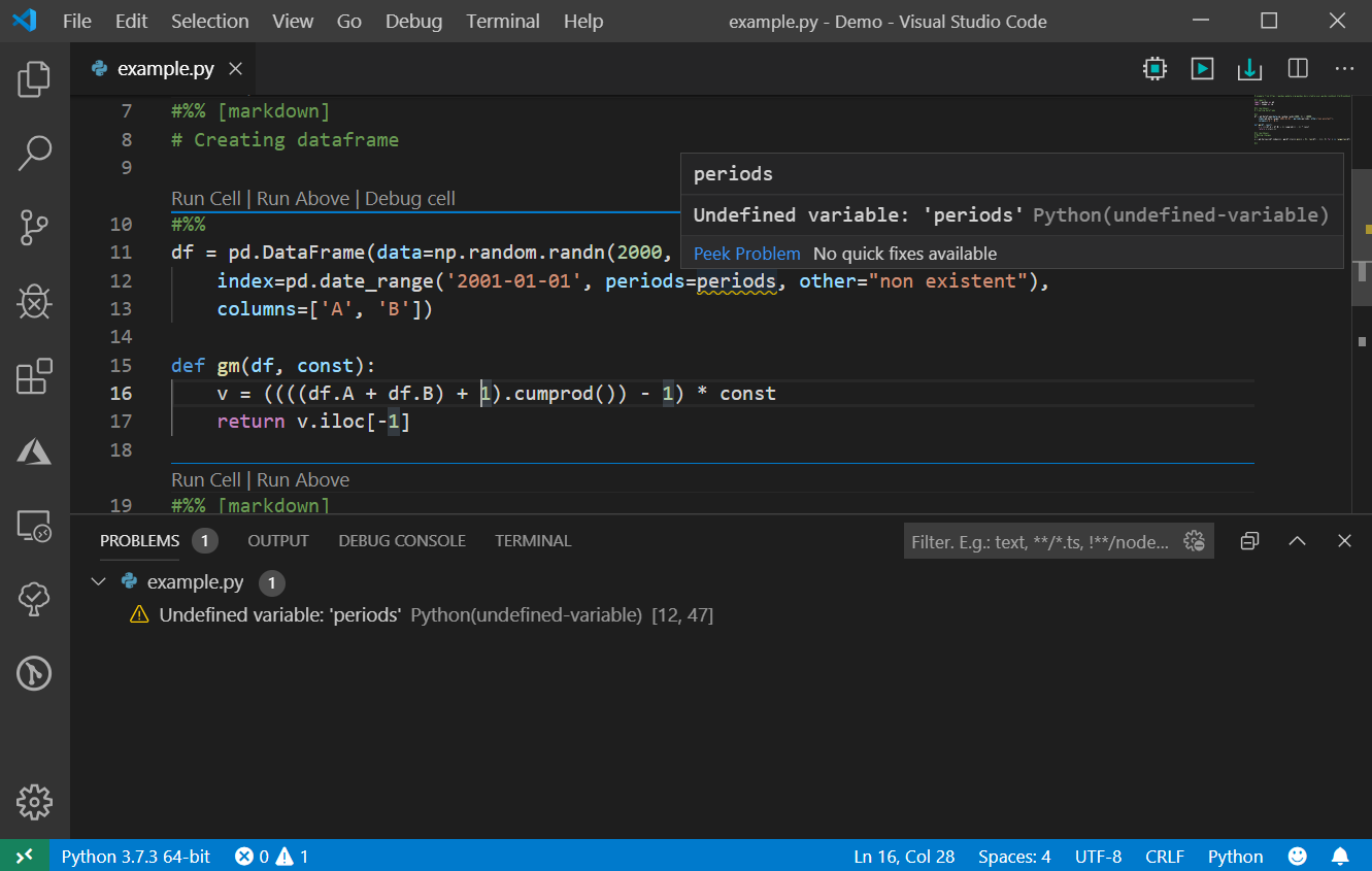 Python in Visual Studio Code – September 2019 Release | Python