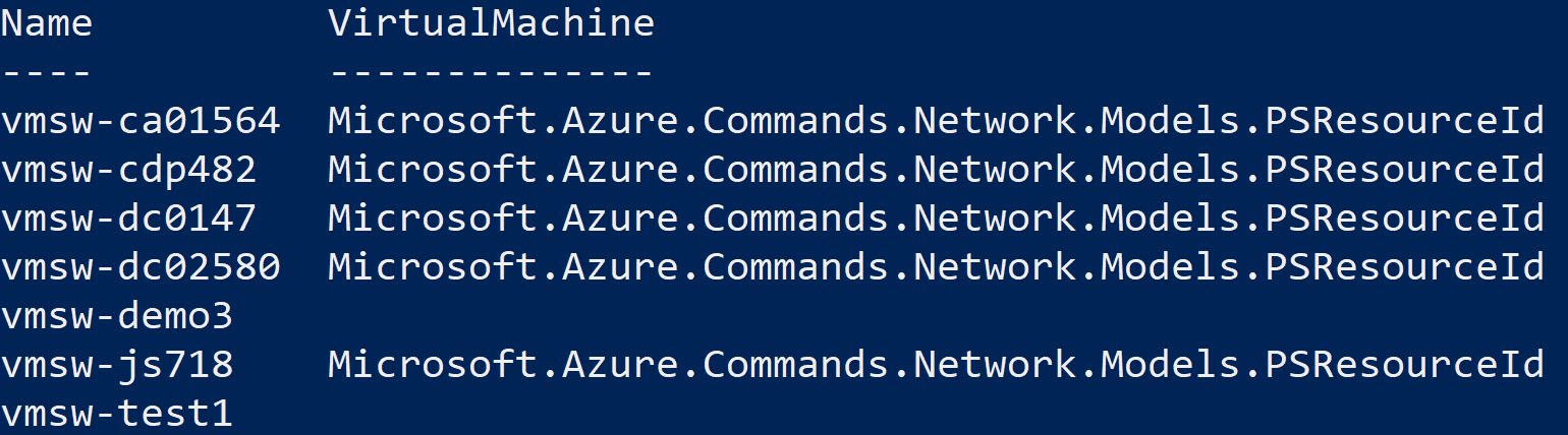 Use PowerShell to Identify Unassociated Azure Resources