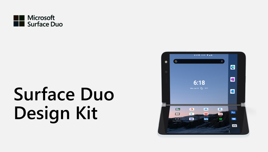 Figma Design Kit for Microsoft Surface Duo
