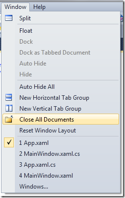 Tips and Tricks: Quickly Closing Documents   The Visual