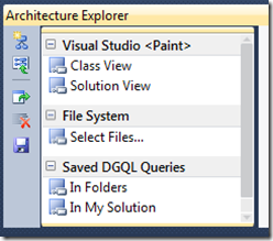 Strong use of color in VS 2010