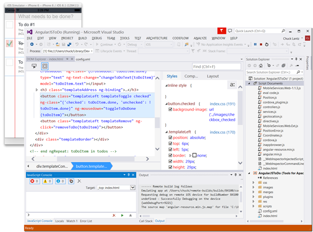 iOS Build & Debugging with the Visual Studio Tools for