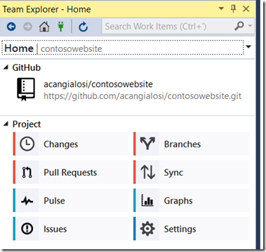 Announcing the GitHub Extension for Visual Studio | The Visual