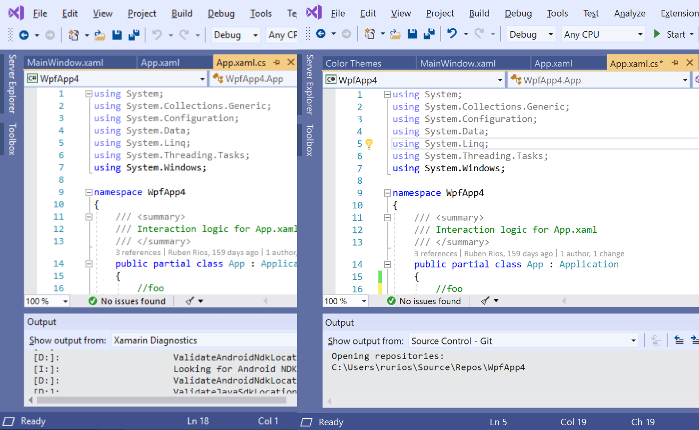 The Visual Studio Blog A better multi-monitor experience with Visual Studio 2019
