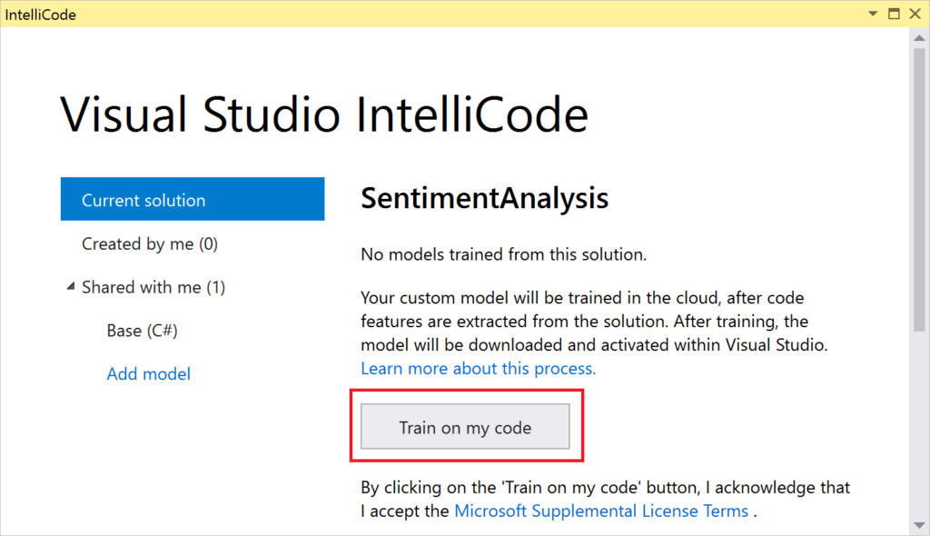 Code more, scroll less with Visual Studio IntelliCode