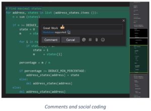 Comments and social coding