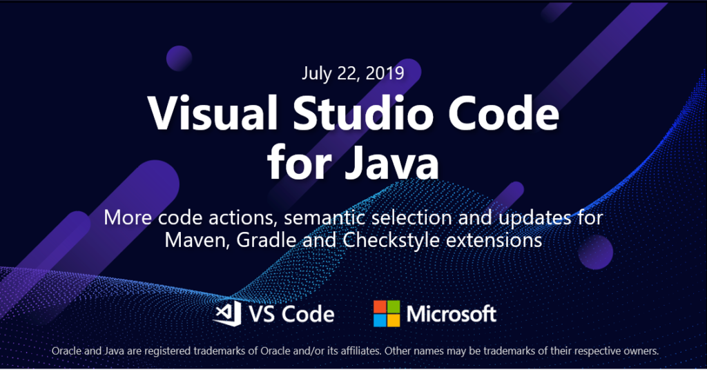 Java on Visual Studio Code July Update
