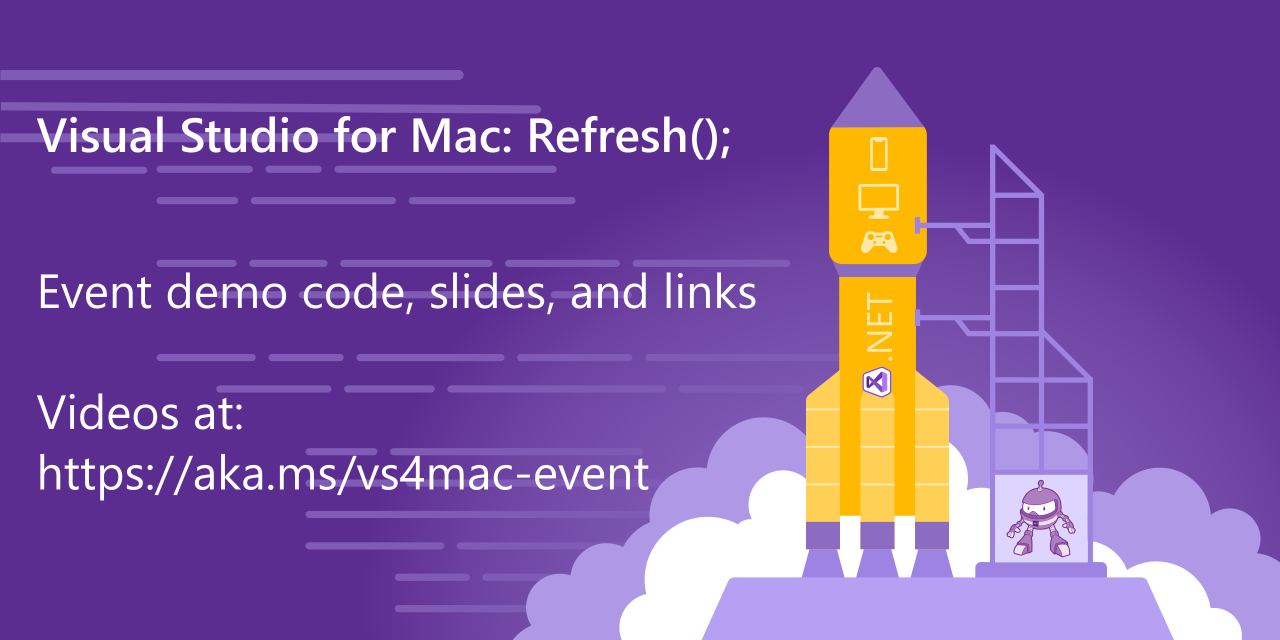 Visual Studio for Mac: Refresh(); event