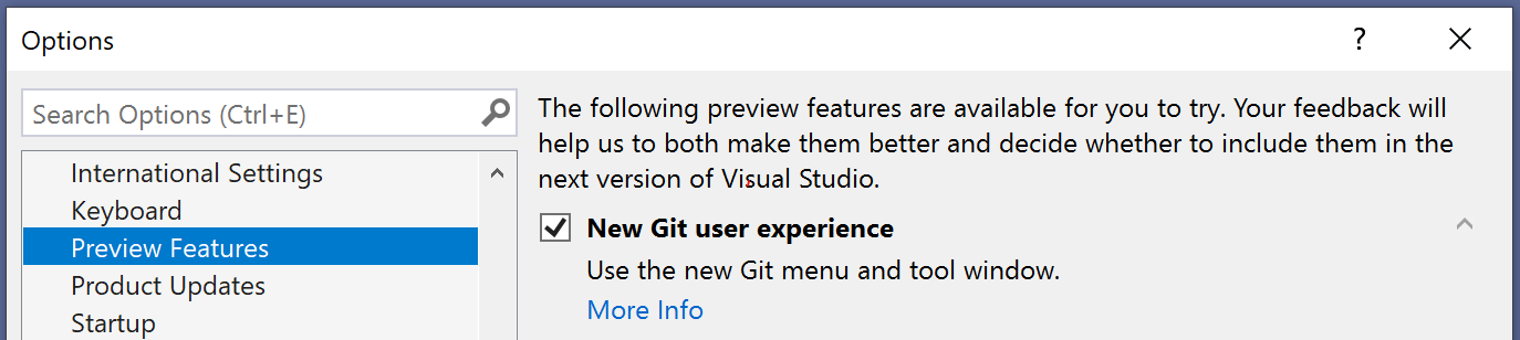 Image git preview feature