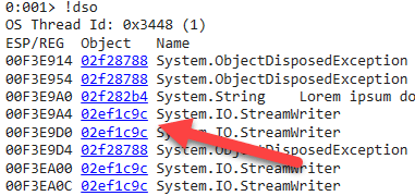 dso Exception