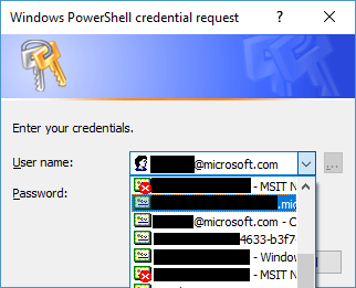 Screenshot of list of certificates