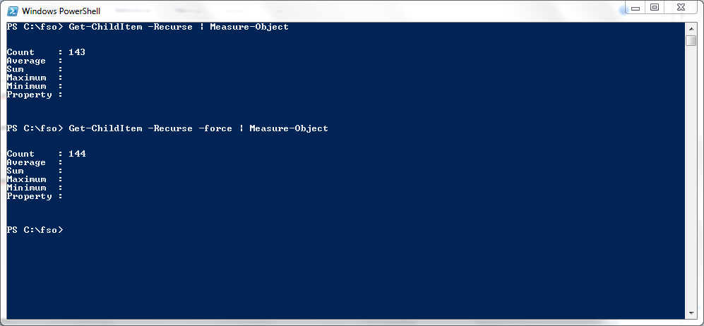 Use a PowerShell Cmdlet to Count Files, Words, and Lines