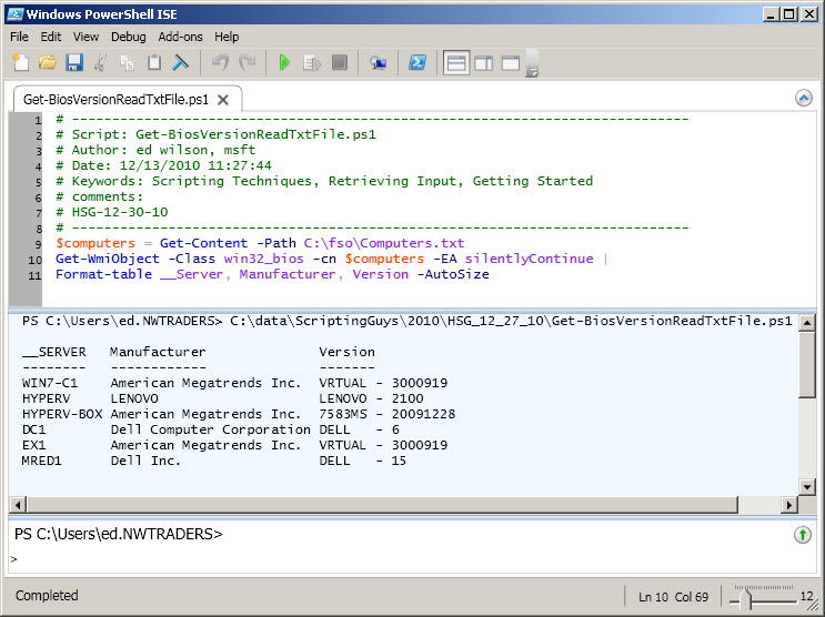 Learn How to Run PowerShell Scripts Against Multiple
